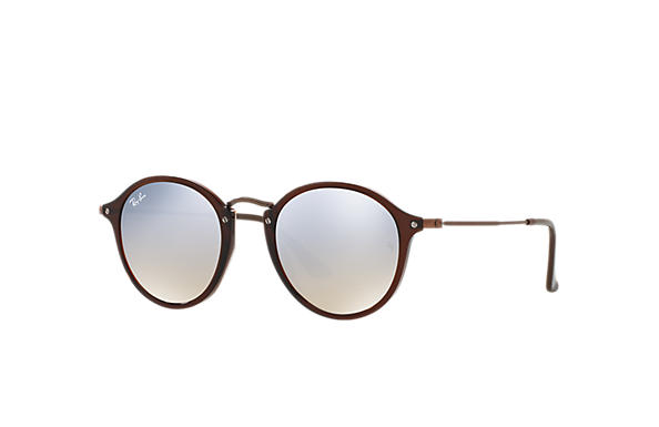 Ray-Ban 0RB2447N-RB2447N FLAT LENSES Brown; Bronze-Copper SUN