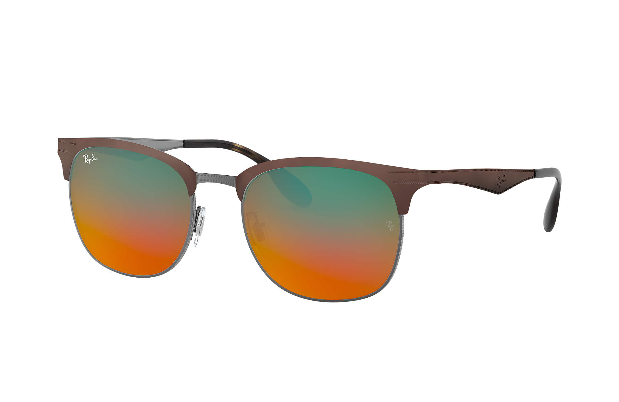 cfe4bf830a Ray-Ban RB3538 Brown - Metal - Orange Lenses - 0RB35389006A853