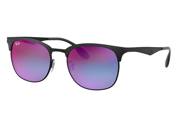 f459b8ff0d Ray-Ban RB3538 Black - Metal - Blue Violet Lenses - 0RB3538186 B153 ...