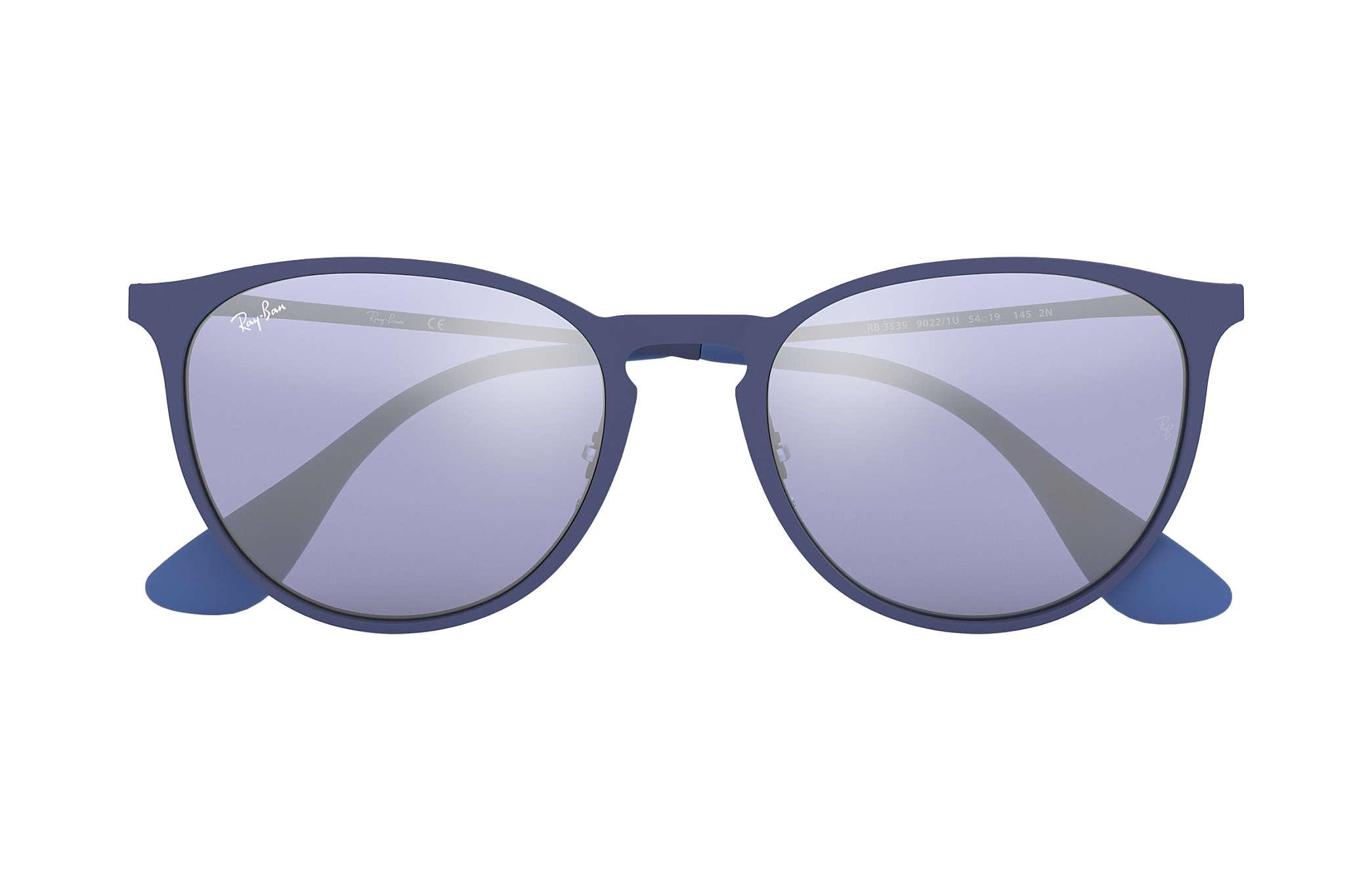 c3505ef0626d7 Ray-Ban Erika Metal RB3539 Blue - Metal - Grey Lenses ...