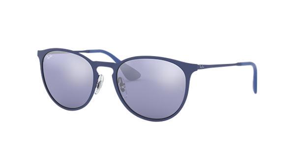 30062614486 Ray-Ban Erika Metal RB3539 Blue - Metal - Grey Lenses - 0RB353990221U54