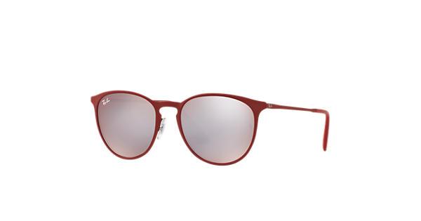 195f87d1db8 Ray-Ban Erika Metal RB3539 Bordeaux - Metal - Pink Silver Lenses -  0RB35399023B554
