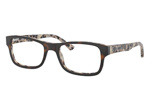 f4d493858fb55 Ray-Ban prescription glasses RB5268 Black - Acetate - 0RX5268511950 ...