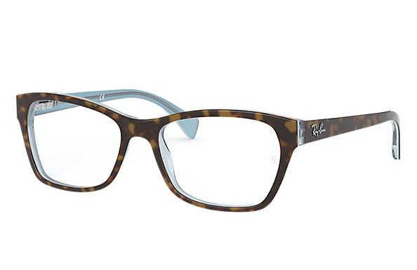 749dfe9fc21 Ray-Ban prescription glasses RB5298 Brown - Acetate - 0RX5298538653 ...