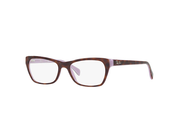 Ray-Ban 0RX5298-RB5298 Tortoise,Violet OPTICAL
