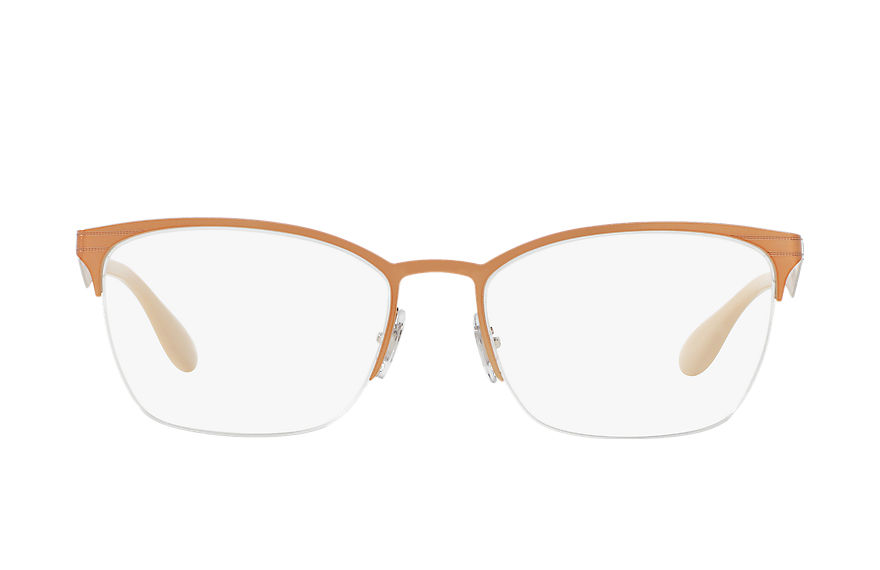 Ray-Ban  eyeglasses RX6345 UNISEX 003 rb6345 brown 8053672686111