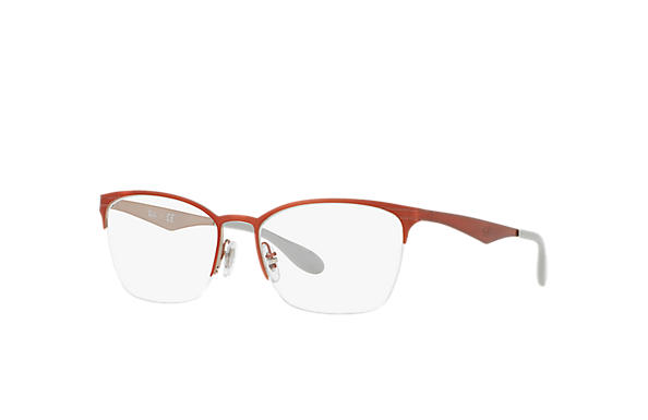 Ray-Ban 0RX6345-RB6345 Red,Silver OPTICAL
