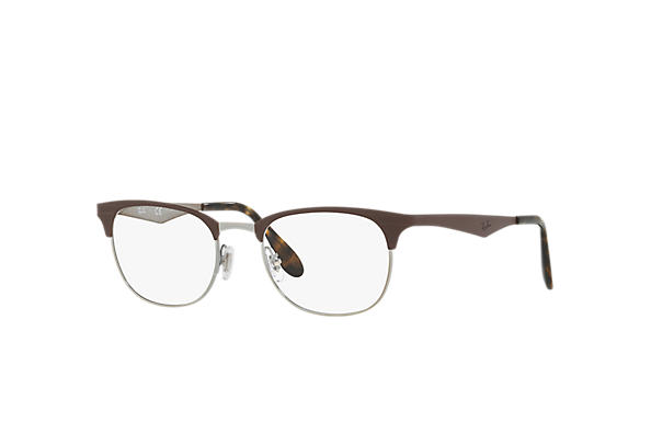 Ray-Ban 0RX6346-RB6346 Braun,Gunmetal OPTICAL