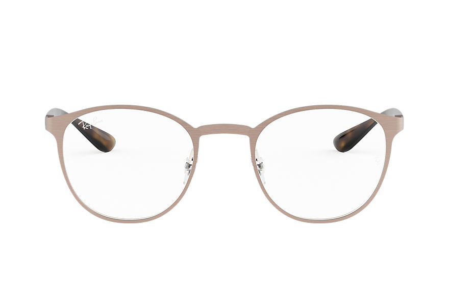 Ray-Ban  eyeglasses RX6355 UNISEX 006 rb6355 light brown 8053672686562