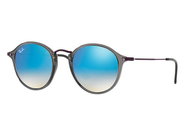 Ray-Ban 0RB2447NF-RB2447NF FLAT LENSES Grey; Violet SUN