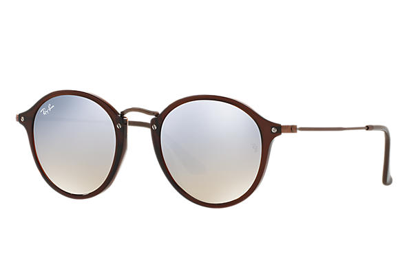 Ray-Ban 0RB2447NF-RB2447NF FLAT LENSES Brown; Bronze-Copper SUN