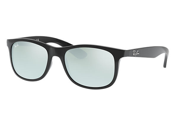 Ray Ban Rb9062s Black Injected Silver Lenses
