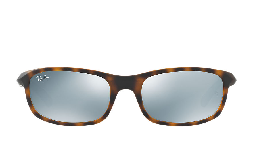 Ray-Ban RJ9056S Tortoise with Silver Mirror lens