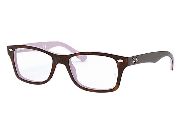 Ray-Ban 0RY1531-RB1531 Tortoise,Violet OPTICAL