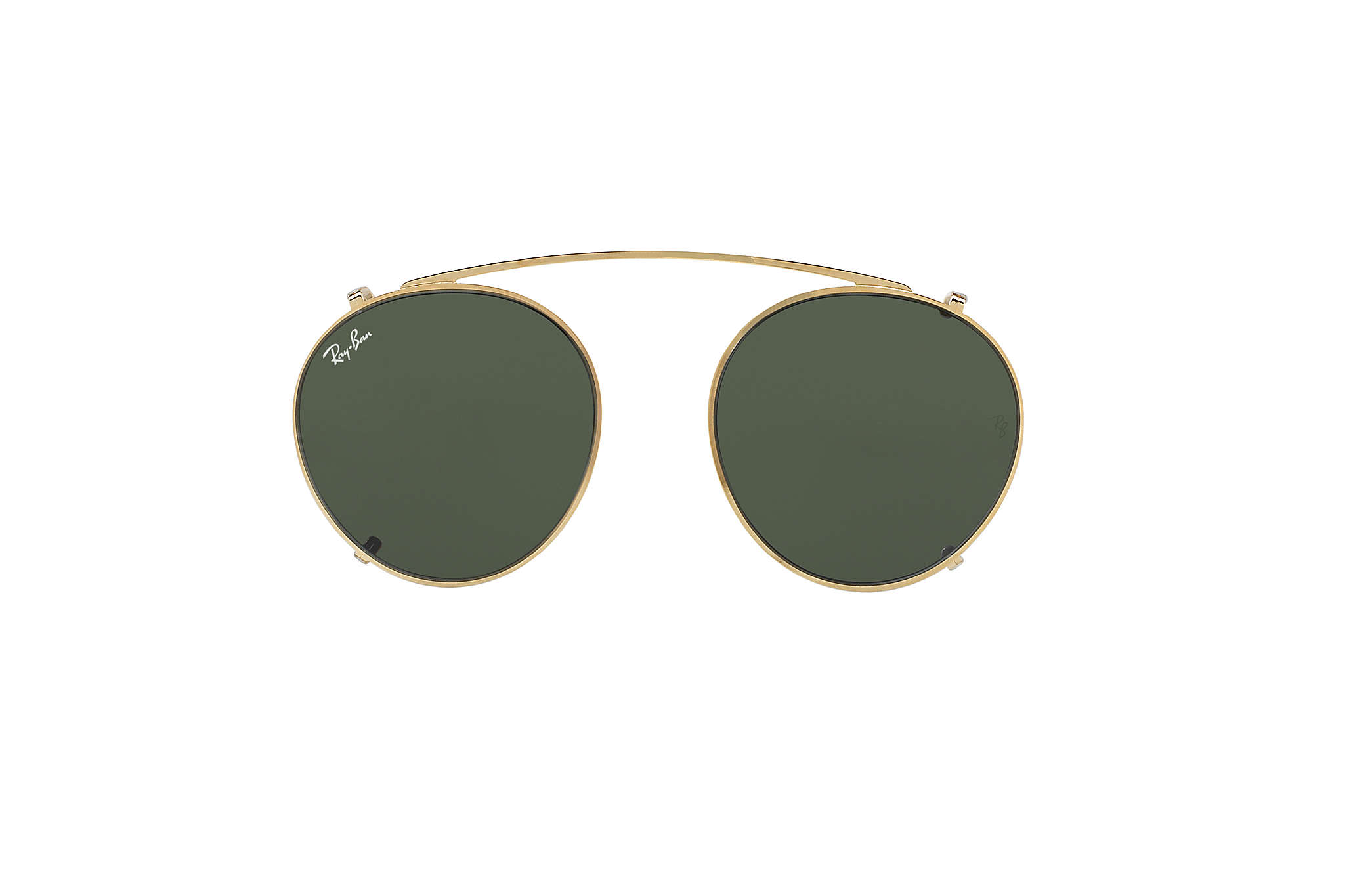 ray ban clip on round