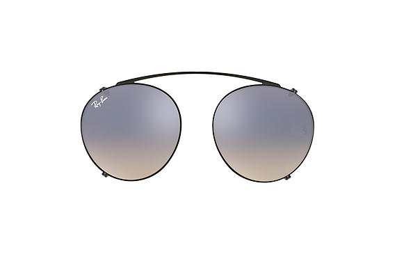 Ray-Ban 0RX2447C-Round Fleck Clip-on Noir CLIPON