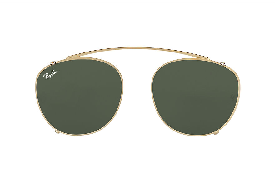 Ray-Ban  accessories RX6355C UNISEX 004 rb6355 clip on gold 8053672689501