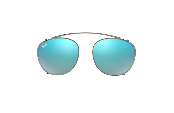 Ray-Ban 0RX6355C-RB6355 CLIP-ON Staalgrijs CLIPON