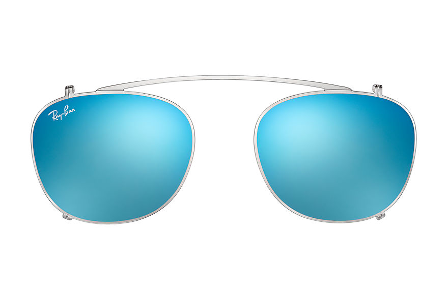 Ray-Ban  accessoires RX6317C MALE 003 rb6317 clip on gunmetal 8053672689617