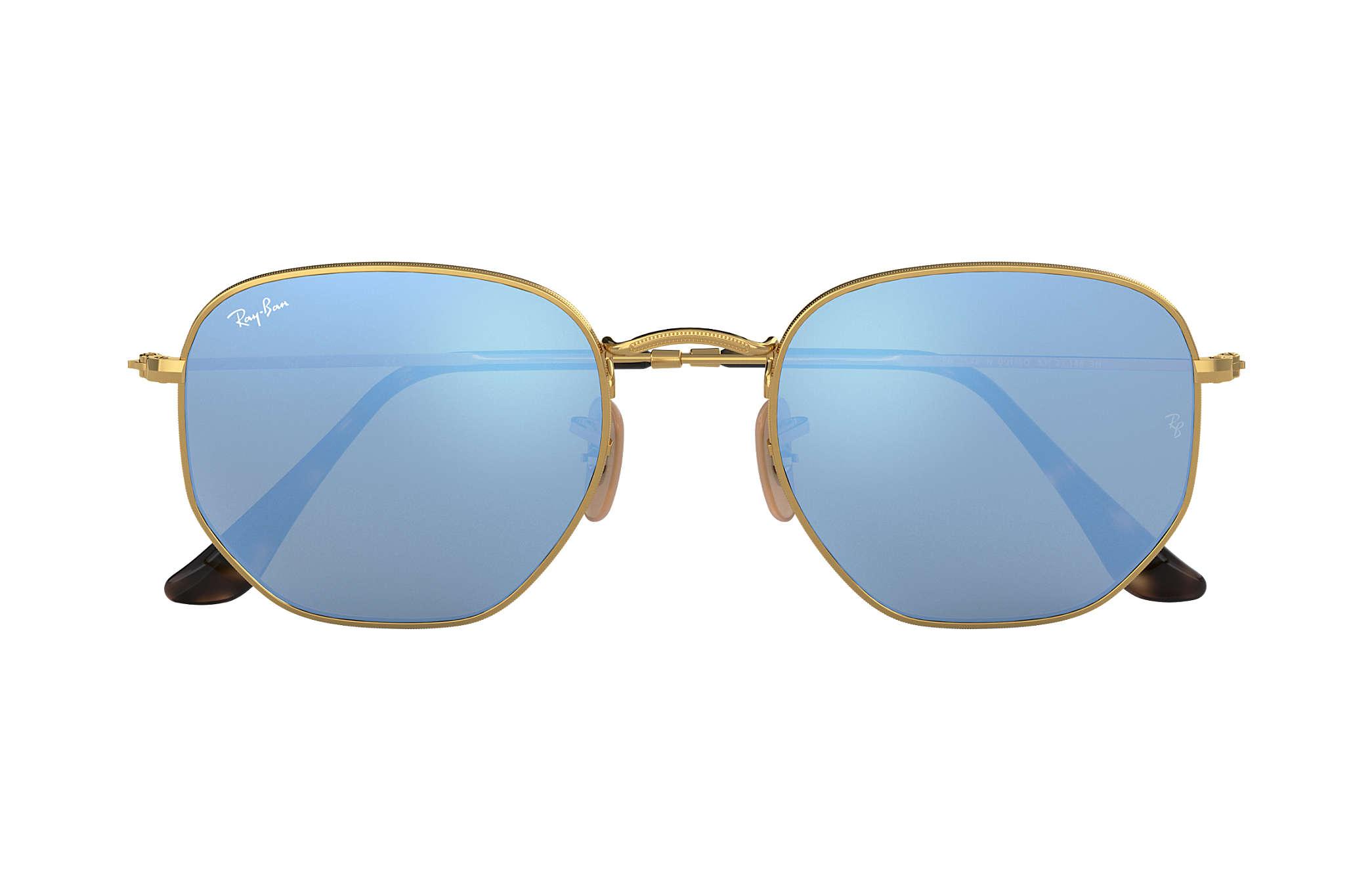 gafas ray ban mujer hexagonal