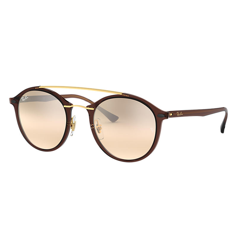 Ray Ban @Collection Brown Sunglasses, Brown Sunglasses Lenses Rb4266