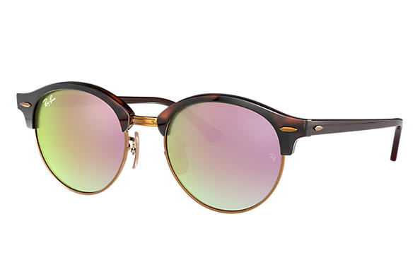 Ray-Ban 0RB4246-CLUBROUND @Collection Havana SUN