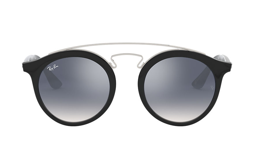 Ray-Ban Sunglasses RB4256 GATSBY I @COLLECTION Black with Light Blue Gradient lens