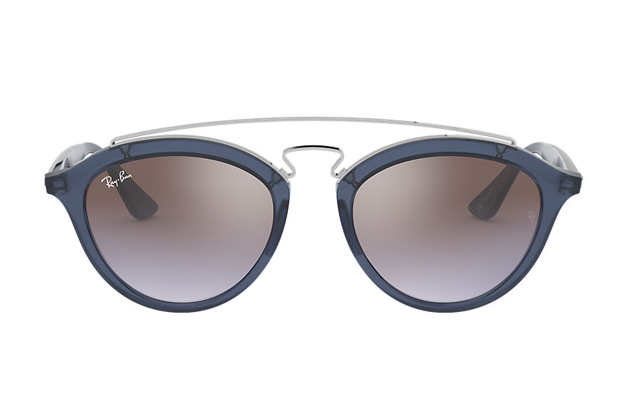 Ray-Ban RB4257 GATSBY II @COLLECTION Blue with Brown/Violet Gradient Mirror lens