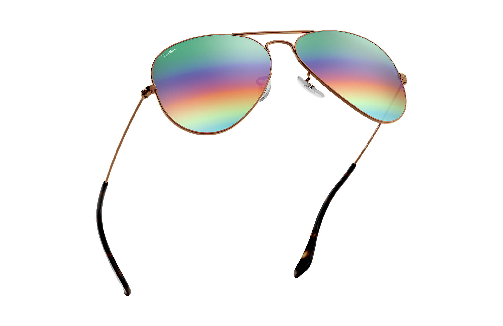 c27ed67c99 ... Ray-Ban 0RB3025-AVIATOR MINERAL FLASH LENSES Bronze-Copper SUN ...