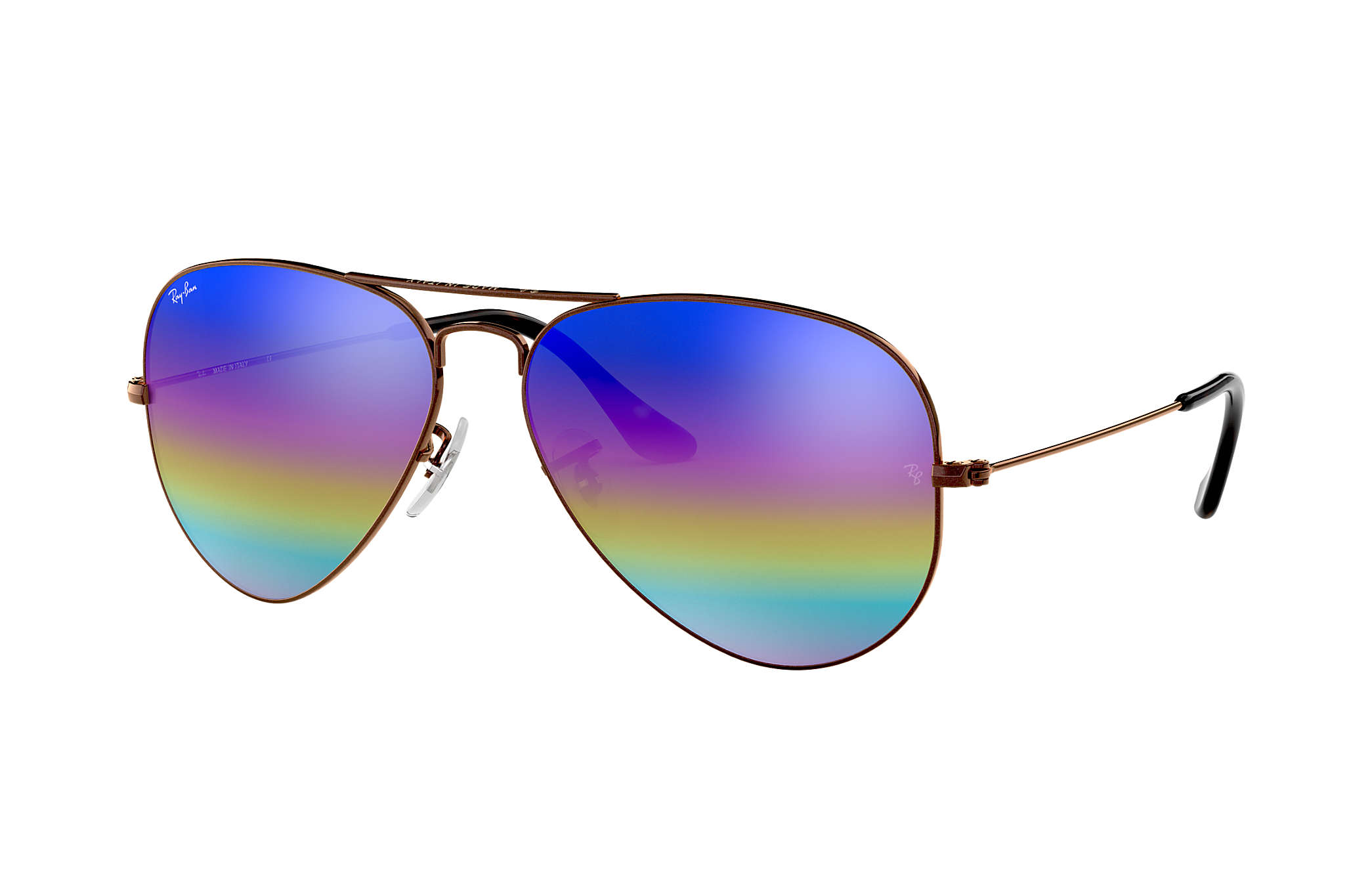 01f7d74dd coupon for ray ban 0rb3025 aviator mineral flash lenses bronze copper sun  d144f 50494