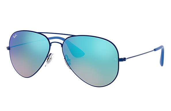 ray ban aviator sunglasses blue lens