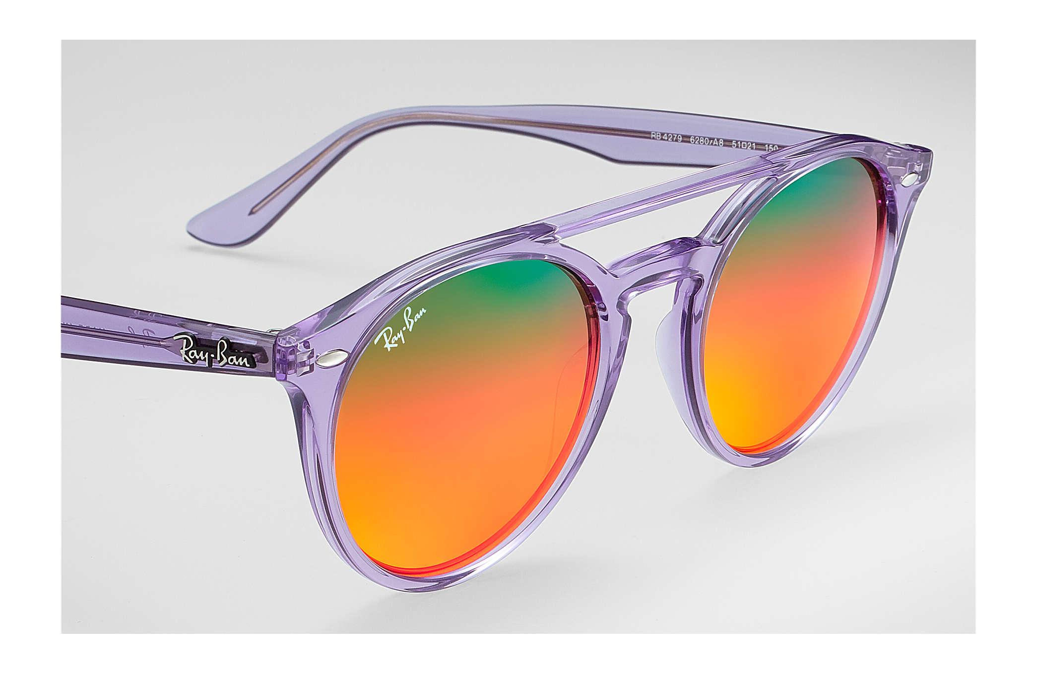 3a3bde8458d Ray-Ban RB4279 Violet - Propionate - Orange Lenses - 0RB42796280A851 ...
