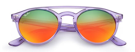 Ray-Ban RB4279 Violet with Orange Gradient Mirror lens