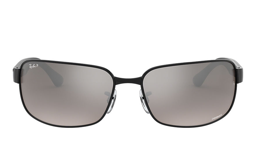 Ray-Ban  gafas de sol RB3566CH MALE 001 rb3566 chromance negro 8053672726374