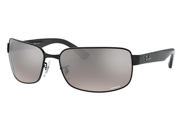 Ray-Ban 0RB3566CH-RB3566 CHROMANCE Black SUN