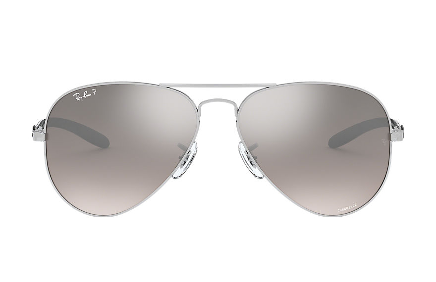 Ray-Ban  gafas de sol RB8317CH MALE 001 rb8317 chromance plata 8053672726404