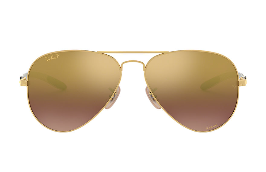 Ray-Ban  gafas de sol RB8317CH MALE 002 rb8317 chromance oro 8053672726411