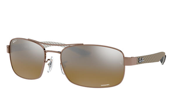 Ray-Ban 0RB8318CH-RB8318 CHROMANCE Light Brown SUN