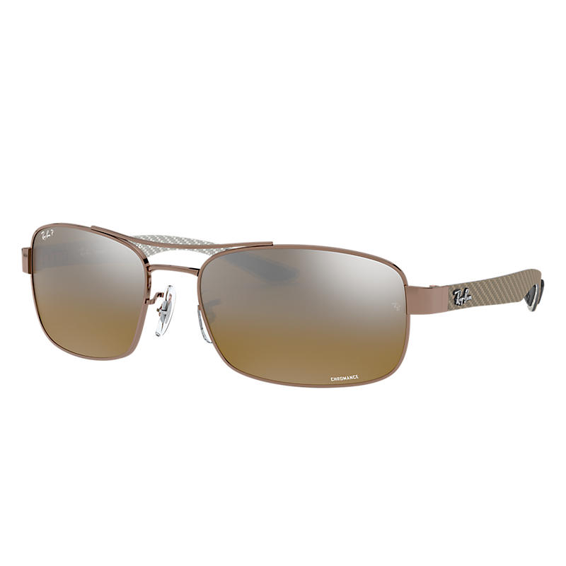 b78c9b3c34 Ray Ban Rb8318 chromance Man Sunglasses Lenses  Brown Polarized ...
