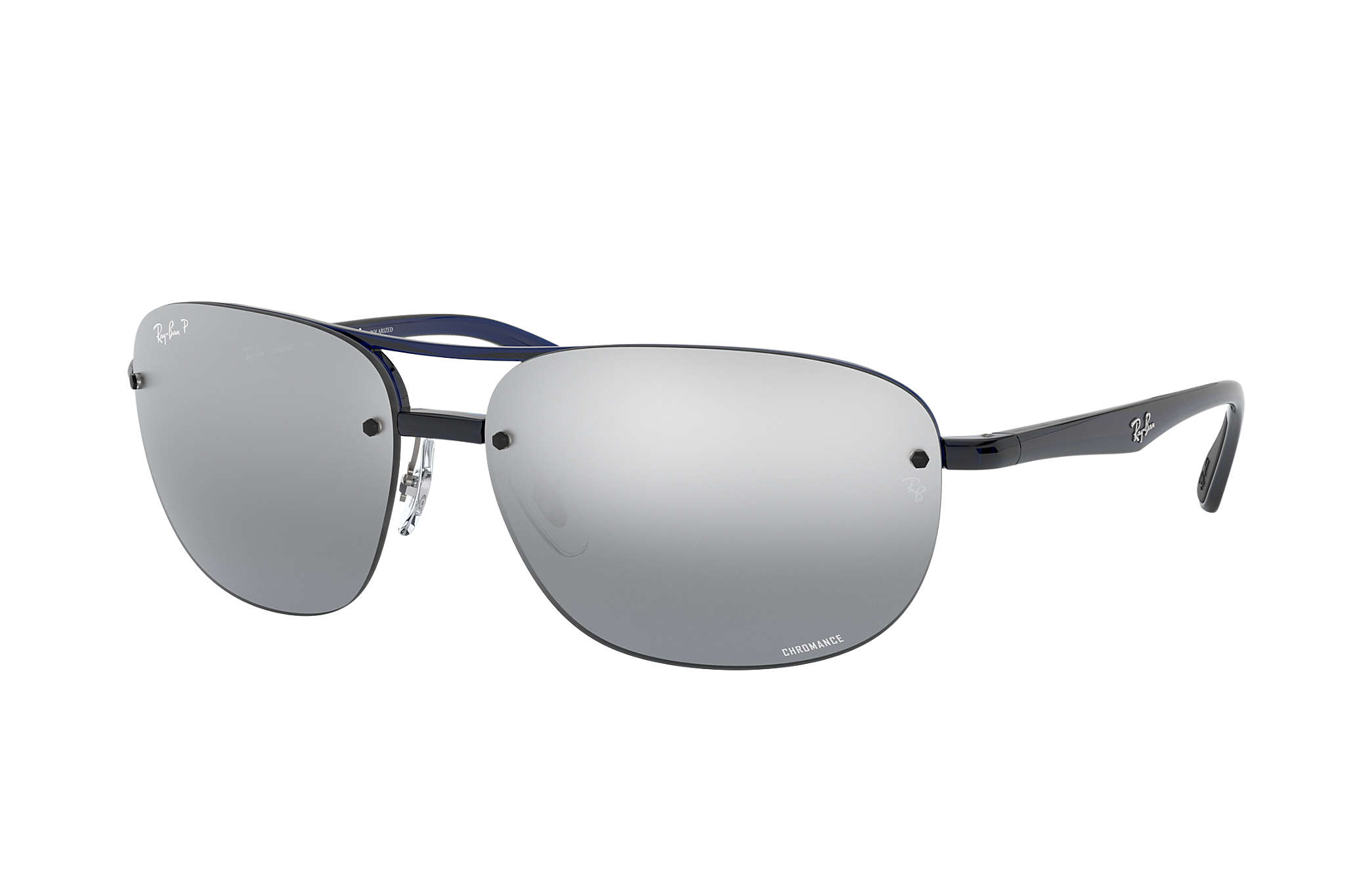 a92dbd5321 Ray-Ban Rb4275 Chromance RB4275CH Blue - Nylon - Grey Polarized ...