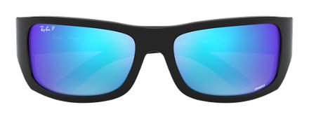 Ray-Ban RB4283 CHROMANCE Black with Blue Mirror Chromance lens