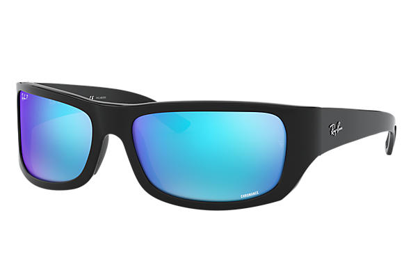 08d8cb3914d Ray-Ban Rb4283 Chromance RB4283CH Black - Nylon - Blue Polarized ...