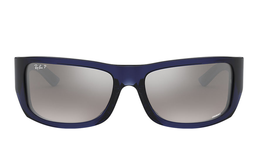Ray-Ban  gafas de sol RB4283CH MALE 002 rb4283 chromance azul 8053672726657