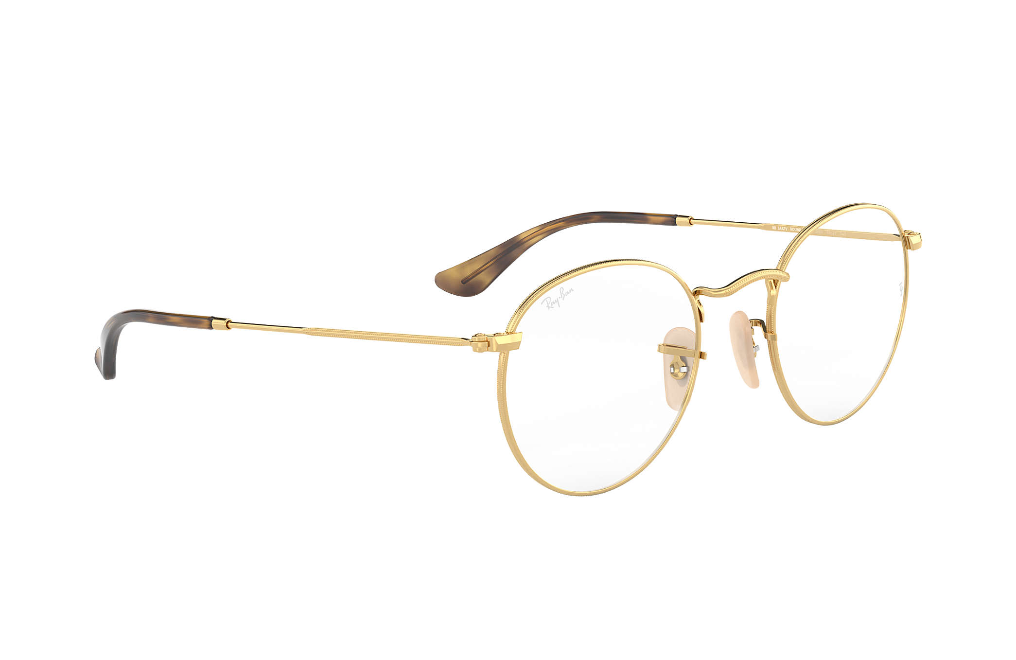 40a031260a ... eyeglasses 3ed8d 46c40  order ray ban 0rx3447v round metal optics gold  optical 05414 3251b