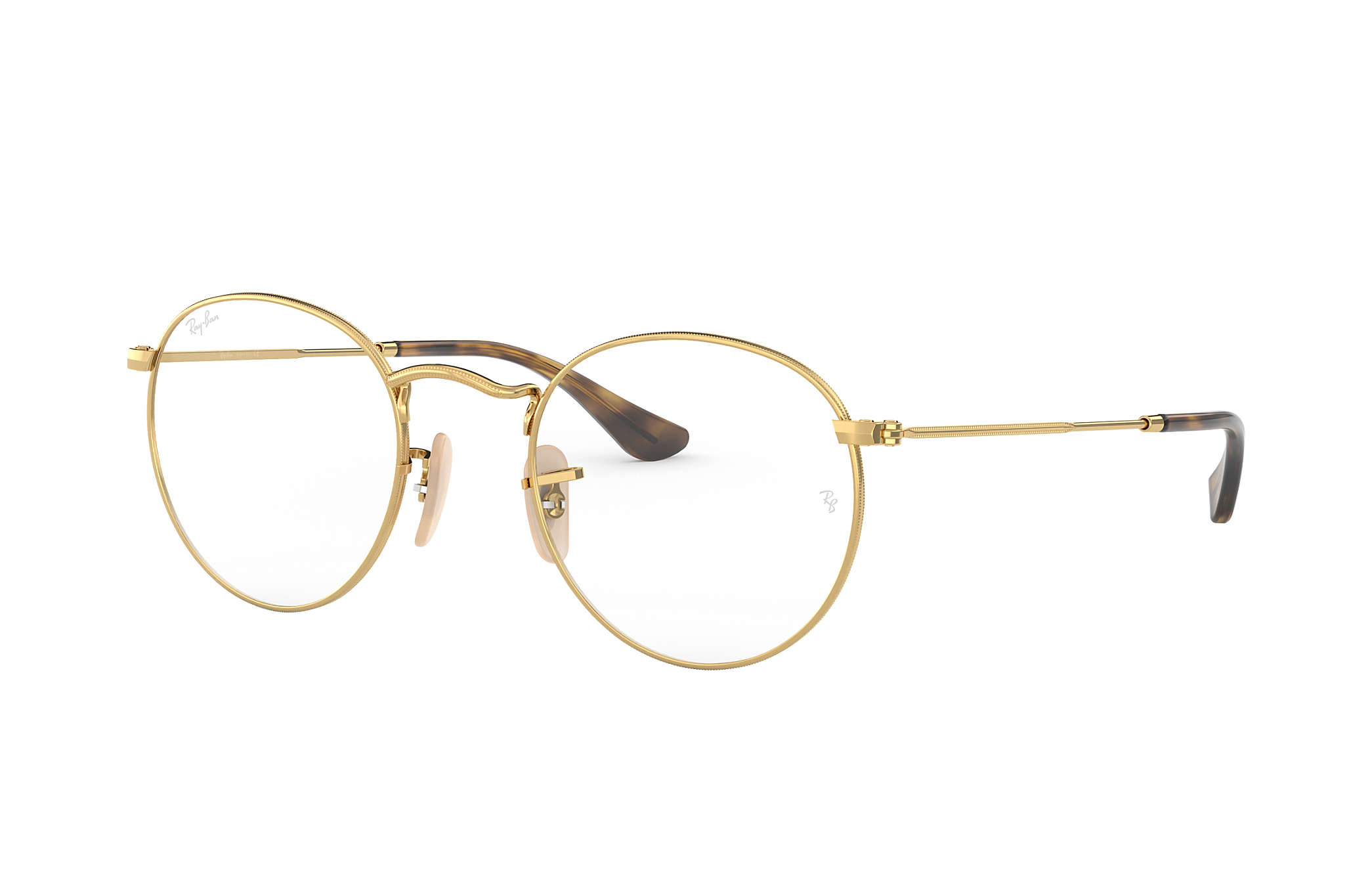 ray ban glasses round metal