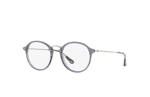 Ray-Ban 0RX2447V-ROUND FLECK Grau; Silber OPTICAL