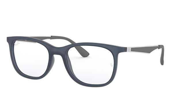 Ray-Ban 0RX7078-RB7078 Bleu; Gun,Gris OPTICAL