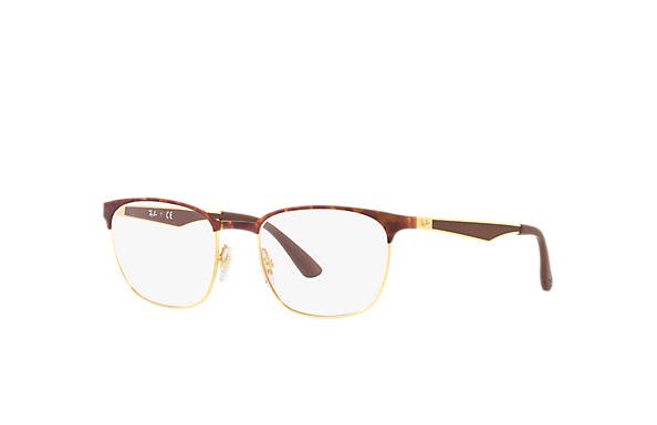 Ray-Ban 0RX6356-RB6356 Tortoise,Gold; Gold,Brown OPTICAL
