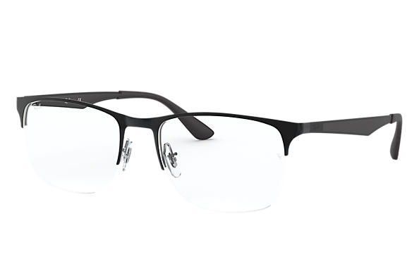 Ray-Ban 0RX6362-RB6362 Black,Silver; Black OPTICAL