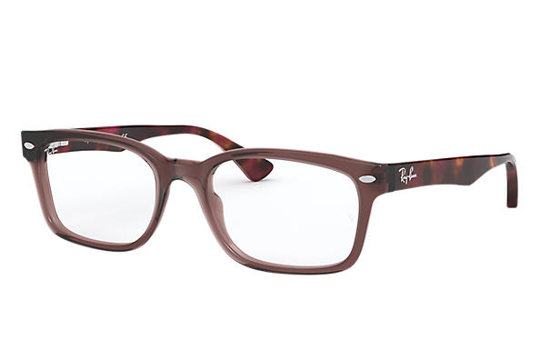 Ray-Ban 0RX5286-RB5286 Braun; Violett OPTICAL